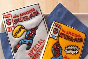 The Spider-Man Comic Book Cookie Cutter Makes Edible Representations
