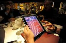 Tablet Dining Companions - De Santos Restaurant is the First to Use an iPad Ordering System