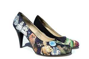 Star Wars Custom Painted Heels Let Ladies Wear the Force on Their Feet