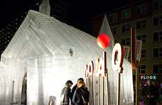 Inflatable Churches - Transparante Kerk is a Pop-Up Church That is the First of its Kind