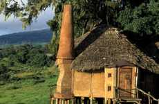 Explosive Eco-Friendly Hotels - The Ngorongoro Crater Lodge is Located in a Volcano