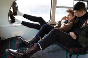 Lose Yourself in the Agyness Deyn 'First and Forever' Dr. Martens Ad