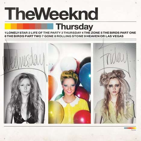 The Weeknd Thursday mixtape cover