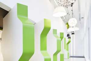 Atrium by Studio RHE Features Interlocking, Rotating Walls