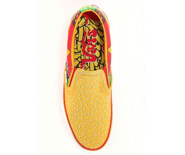 Funky Fast-Food Footwear