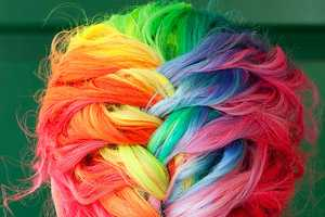 Wisely Chosen Dyes Hair All Colors of the Rainbow