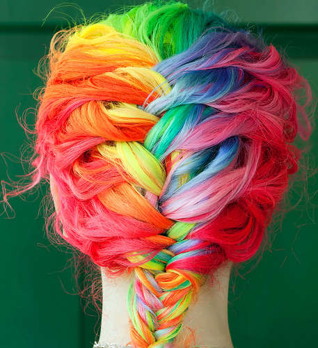 Spectacular Spectrum Hair Styles