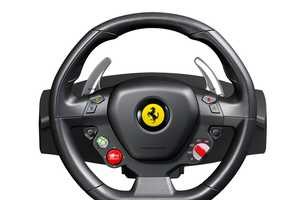 Thrustmaster Ferrari Xbox Racing Wheel Lets Gamers Drive Like a Boss