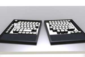 The Cus Key is an Ergonomic Computer Creation for Disabled Users