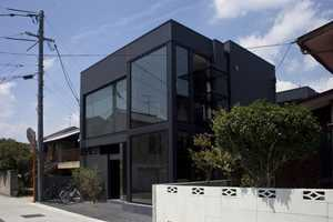 The 'Black Slit' House Adds Luxury to Industrial Japanese Living