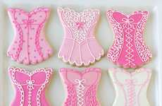 Sensual Newlywed Nibbles - This Wedding Shower Corset Cookie Recipe Will Make Any Bride Blush