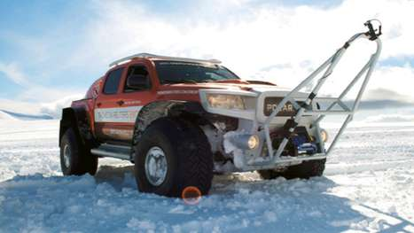 South Pole Expedition Vehicle
