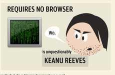 Internet Icon Infographics