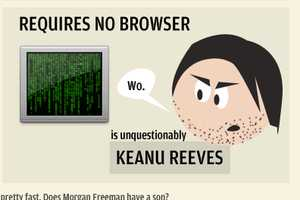 The If Web Browsers Were Celebrities Infographic Goes to Hollywood