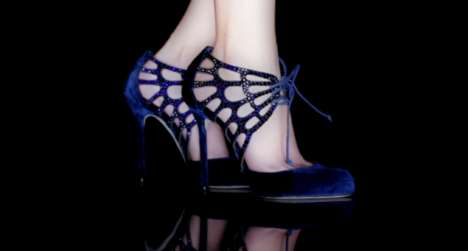 Sergio Rossi brings out his funky stiletto collection