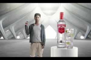 The Pharrell Williams Smirnoff Ad Connects Beats and Booze