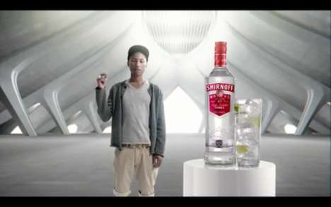 Pharrell Williams Smirnoff
