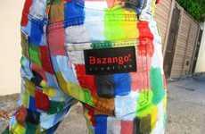 Paint Splattered Eco Wear