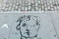 Mysterious Sidewalk Illustrations
