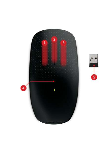 Touch Mouse by Microsoft
