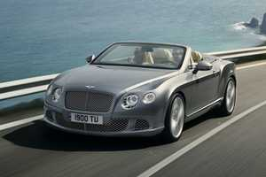 Race Around Town in Style in the New Bentley 2012 Continental GTC