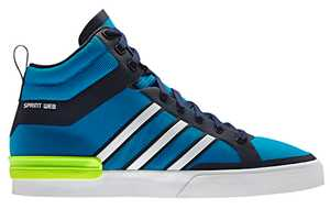 The Adidas Originals Crazylight Top Court Shoe Boasts Bold Blue Colors