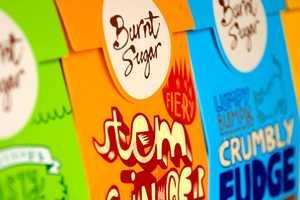 The Burnt Sugar Fudge Brand Receives a Daring Design Makeover