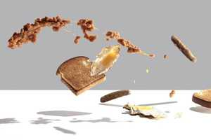 Michael Crichton's 'Flying Food' Series Shows Anti-Gravity Meals