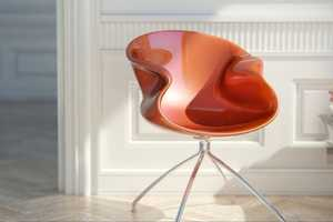 The Eidos Chair is Inspired by Nuvist's Charme Bathtub