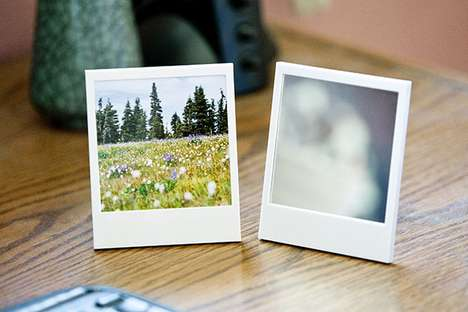 Polaroid Picture Frame and Mirror