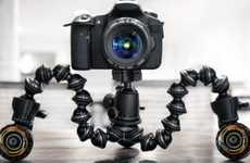 Robotic Rolling Tripods - Cineskates Camera Sliders Help You Shoot Sweeping Shoots Like a Pro