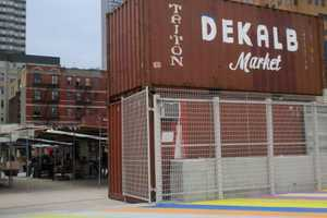 The Dekalb Market Becomes America's First Shipping Container Market