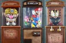 Game-Inspired Fortune-Tellers - Kody Koala Boardwalk Cabinets Make Nintendo Toons Clairvoyants