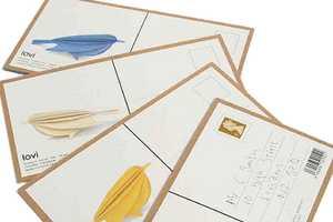 Lovi & Anne Paso's Birch Bird Card is a Creative Twist on Communication