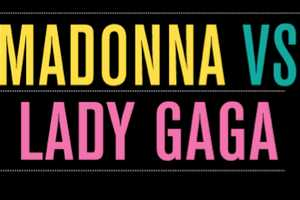The 'Madonna vs Lady Gaga' Infographic Documents Fashion Phases