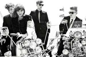 The Vogue Italia August 2011 Editorial Features Classic Outcast Gangs