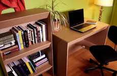 Eco-Friendly Dorm Furniture - Our Paper Life Offers Students Sturdy and Cheap Desks and Shelves