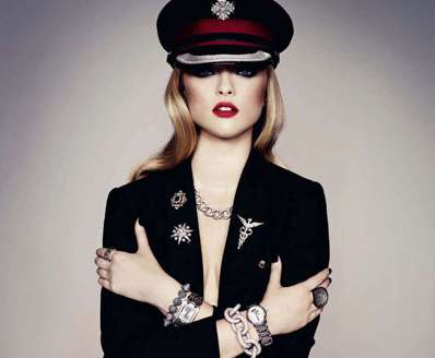 Dangerously Seductive Soldier Editorials - The Marcelina Sowa Harper's Bazaar UK Shoot is Assertive