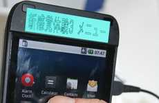 Haptic Smartphones - KDDI Labs Invent a Touchscreen With the Familiar Feel of Buttons