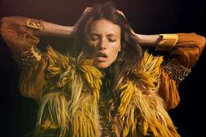 This Mona Johannesson Marie Claire Italia Shoot Goes in Field