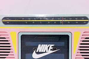 The Nike Boombox Shoebox is a Unique DIY Project With Retro Qualities
