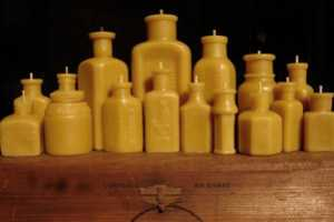 The Pollen Arts Beeswax Candles are Eco Chic