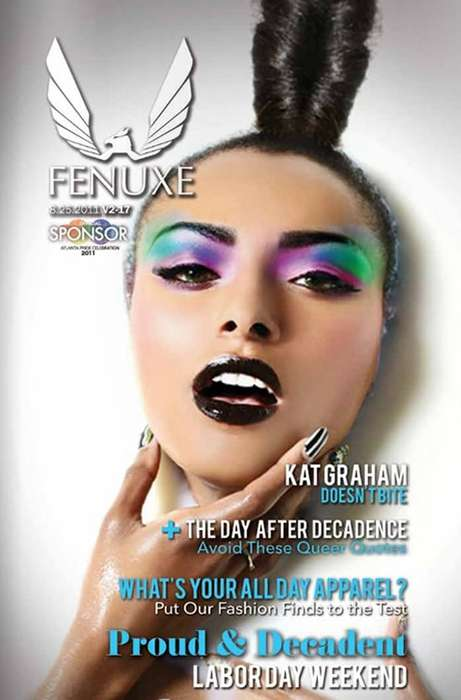 Kat Graham Fenuxe Magazine