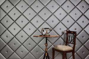 NappaTile Creates Plush Wallpaper That Exudes Opulence