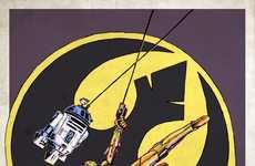 Sci-Fi Dark Knight Mash-Ups