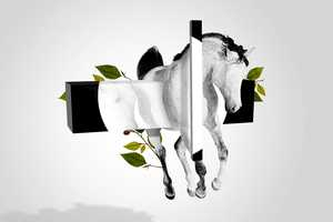 'A Suspended Horse' by Emeric Trahand Invokes Surrealistic Trance