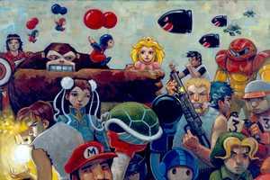 Aaron Jasinski Illustrates Your Favorite Characters in Fun Scenarios
