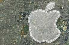 Apple-Shaped Running Routes - The Tribute to Steve Run Recognizes the Former CEO