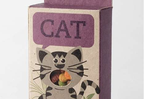 Fish Bird Dog Cat Packaging