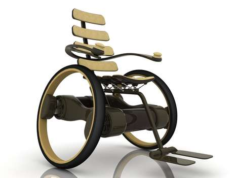 Wheelchair by Ivo Tanchev
